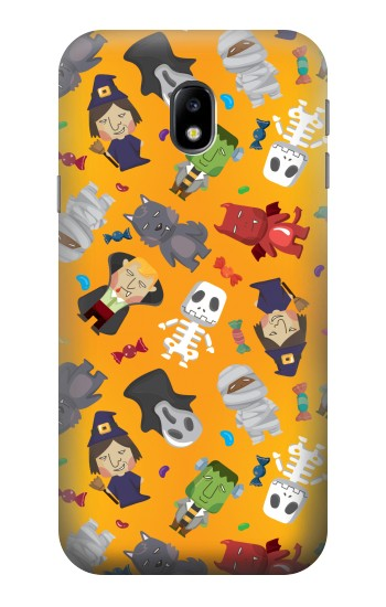 Printed Cute Halloween Cartoon Pattern HTC One A9 Case