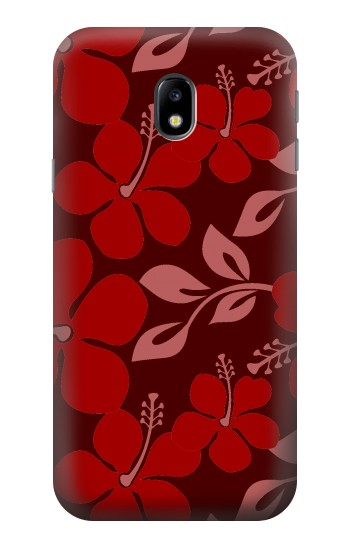 Printed Hawaii Dark Red Pattern HTC One A9 Case