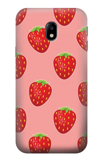 Printed Strawberry Fruit Pattern HTC One A9 Case