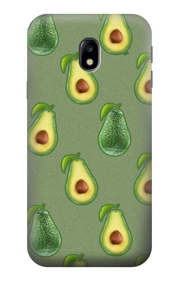 Printed Avocado Fruit Pattern HTC One A9 Case