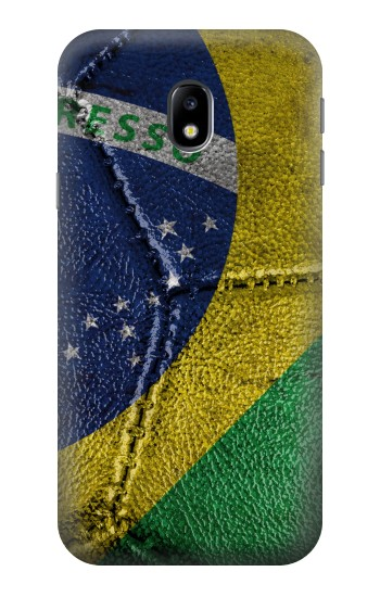 Printed Brazil Flag Vintage Football 2018 HTC One A9 Case