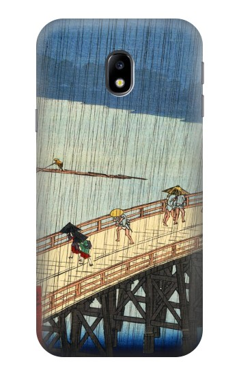 Printed Utagawa Hiroshige Sudden shower over Shin Oashi bridge and Atake HTC One A9 Case