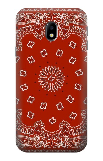 Printed Bandana Red Pattern HTC One A9 Case