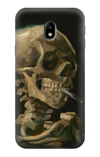Printed Vincent Van Gogh Head Skeleton Cigarette HTC One A9 Case