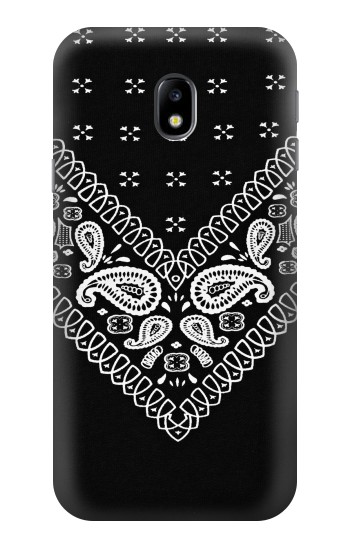 Printed Bandana Black Pattern HTC One A9 Case