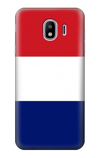 Printed Flag of France and the Netherlands Samsung Galaxy J4 Case