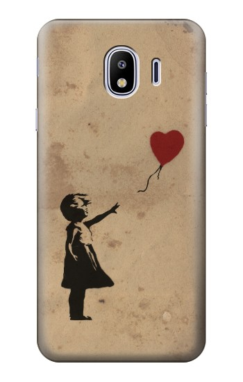 Printed Girl Heart Out of Reach Samsung Galaxy J4 Case