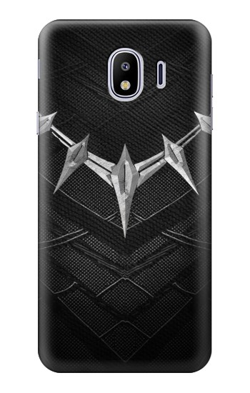 Printed Black Panther Inspired Costume Necklace Samsung Galaxy J4 Case