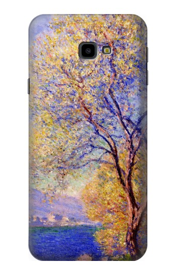 Printed Claude Monet Antibes Seen from the Salis Gardens Samsung Galaxy J4 Plus (2018) Case