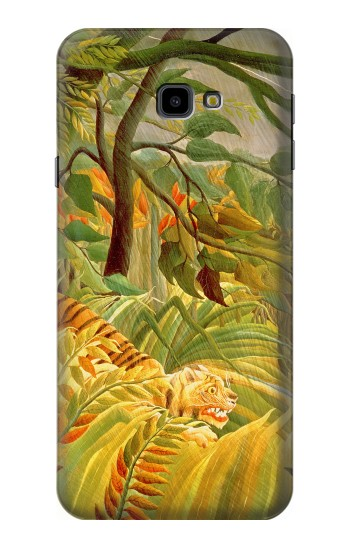 Printed Henri Rousseau Tiger in a Tropical Storm Samsung Galaxy J4 Plus (2018) Case