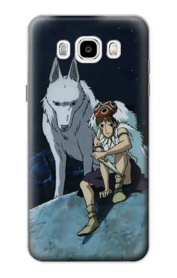 Printed Princess Mononoke San Samsung Galaxy J5 (2016) Case