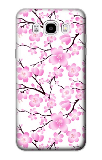 Printed Sakura Cherry Blossoms Samsung Galaxy J5 (2016) Case