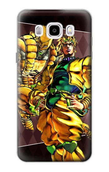 Printed Jojo Bizarre Adventure Dio Brando The World Samsung Galaxy J5 (2016) Case