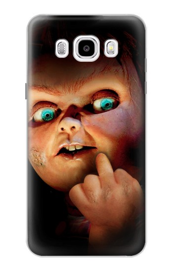 Printed Chucky Middle Finger Samsung Galaxy J5 (2016) Case