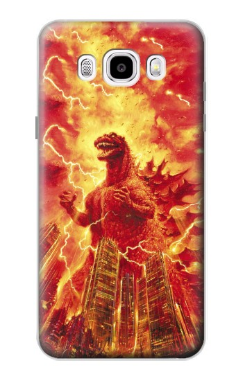 Printed Godzilla The Legend Is Reborn Samsung Galaxy J5 (2016) Case