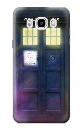 Printed Tardis Phone Box Samsung Galaxy J5 (2016) Case