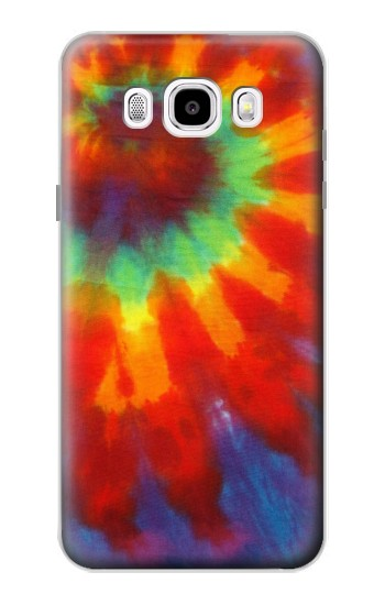 Printed Colorful Tie Dye Fabric Texture Samsung Galaxy J5 (2016) Case