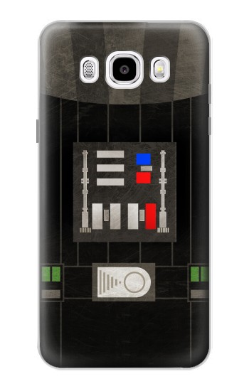 Printed Darth Vader Chest Plate Samsung Galaxy J5 (2016) Case