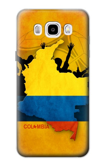 Printed Colombia Football Flag Samsung Galaxy J5 (2016) Case