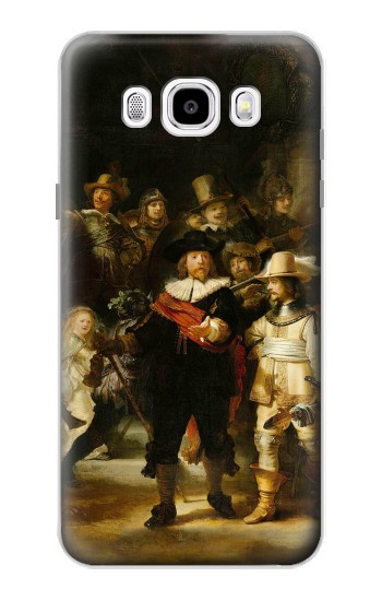 Printed The Night Watch Rembrandt Samsung Galaxy J5 (2016) Case
