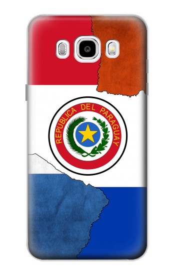 Printed Paraguay Flag Samsung Galaxy J5 (2016) Case
