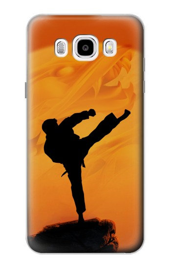 Printed Kung Fu Karate Fighter Samsung Galaxy J5 (2016) Case