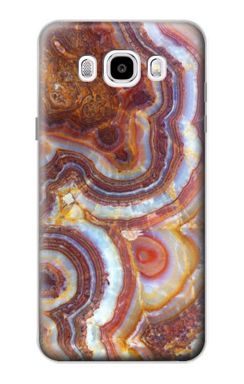 Printed Colored Marble Texture Printed Samsung Galaxy J5 (2016) Case