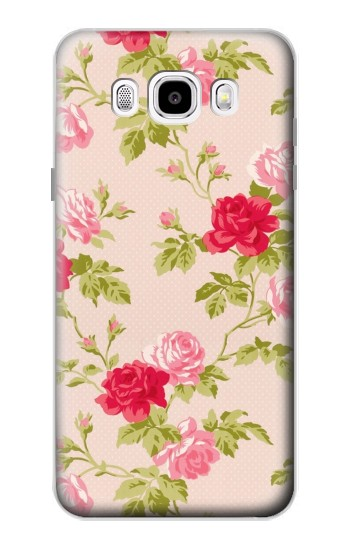 Printed Pretty Rose Cottage Flora Samsung Galaxy J5 (2016) Case
