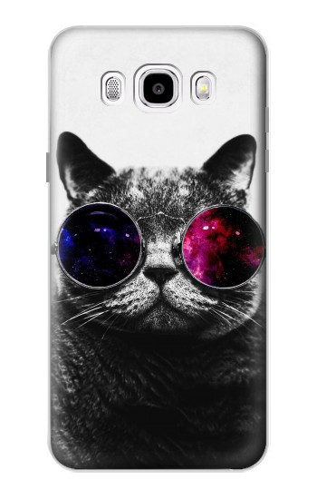 Printed Cool Cat Glasses Samsung Galaxy J5 (2016) Case