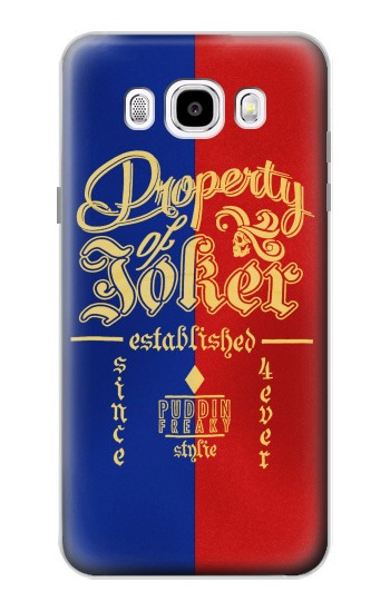 Printed Property of Joker Puddin Freaky Style Samsung Galaxy J5 (2016) Case