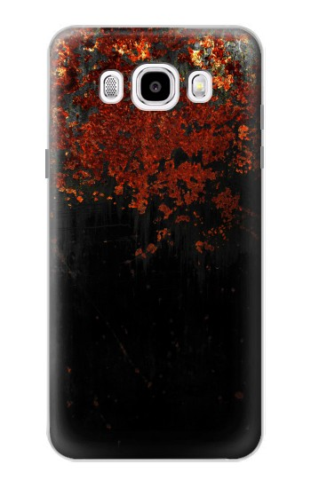 Printed Rusted Metal Texture Samsung Galaxy J5 (2016) Case