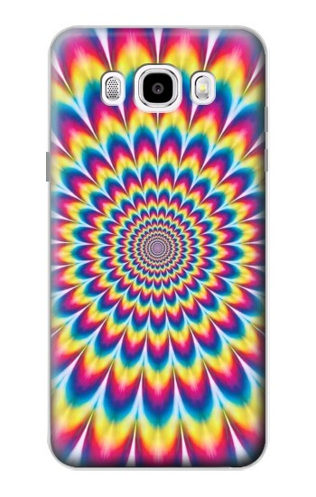 Printed Colorful Psychedelic Samsung Galaxy J5 (2016) Case