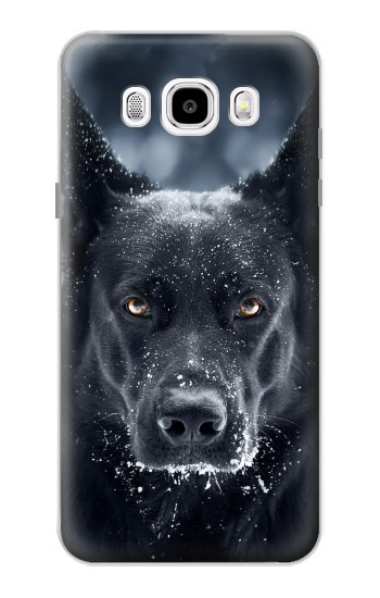 Printed German Shepherd Black Dog Samsung Galaxy J5 (2016) Case