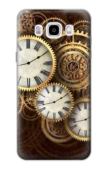 Printed Gold Clock Live Samsung Galaxy J5 (2016) Case