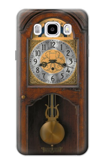 Printed Grandfather Clock Antique Wall Clock Samsung Galaxy J5 (2016) Case