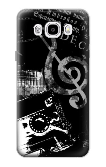 Printed Music Cassette Note Samsung Galaxy J5 (2016) Case