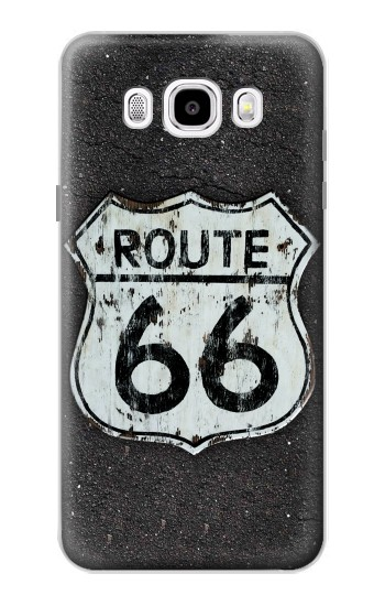 Printed Route 66 Sign Samsung Galaxy J5 (2016) Case