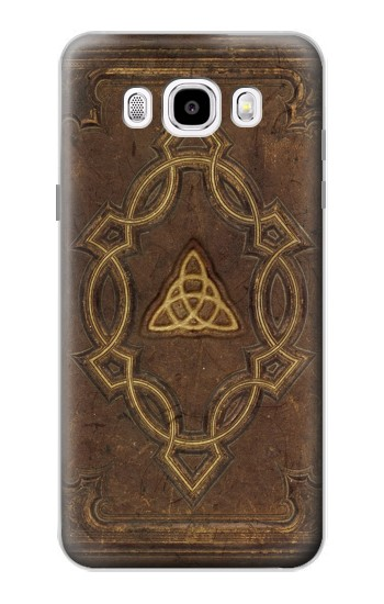 Printed Spell Book Cover Samsung Galaxy J5 (2016) Case