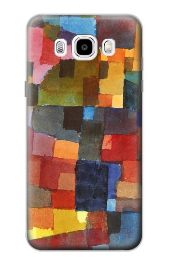 Printed Paul Klee Raumarchitekturen Samsung Galaxy J5 (2016) Case