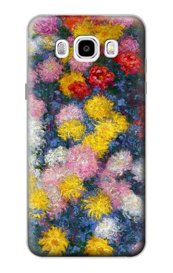 Printed Claude Monet Chrysanthemums Samsung Galaxy J5 (2016) Case