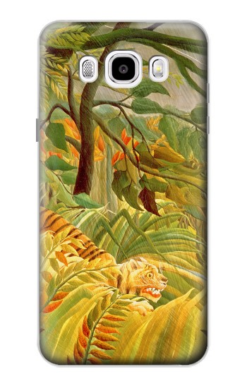Printed Henri Rousseau Tiger in a Tropical Storm Samsung Galaxy J5 (2016) Case