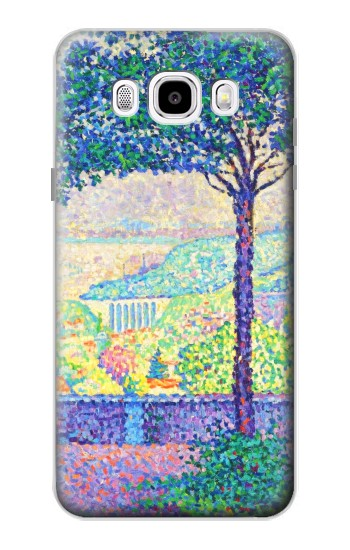 Printed Paul Signac Terrace of Meudon Samsung Galaxy J5 (2016) Case