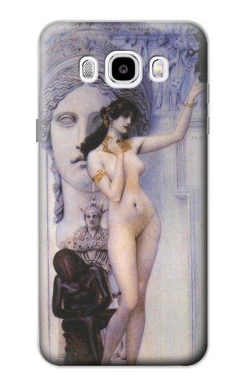 Printed Gustav Klimt Allegory of Sculpture Samsung Galaxy J5 (2016) Case