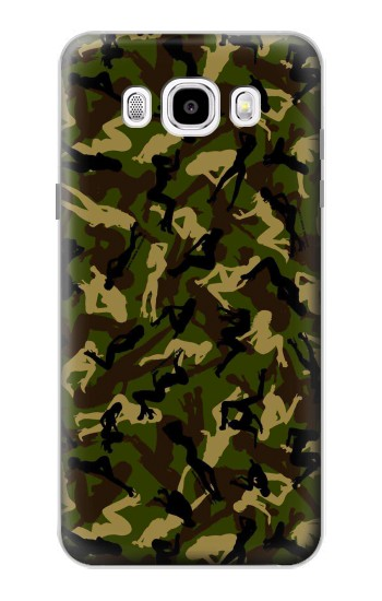 Printed Sexy Girls Camo Samsung Galaxy J5 (2016) Case