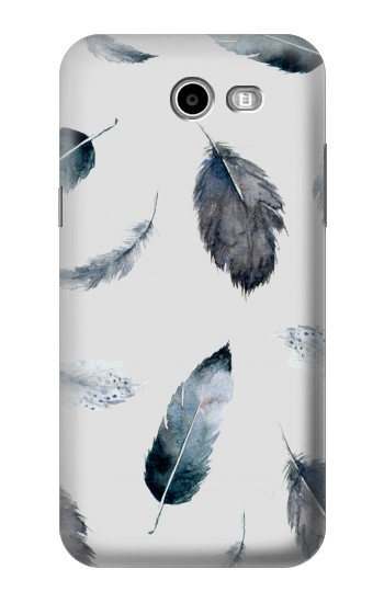 Printed Feather Paint Pattern Asus Zenfone 2 Laser ZE550KL Case