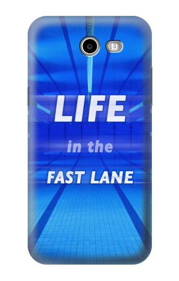 Printed Life in the Fast Lane Swimming Pool Asus Zenfone 2 Laser ZE550KL Case