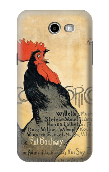 Printed Cocorico Rooster Vintage French Poster Asus Zenfone 2 Laser ZE550KL Case