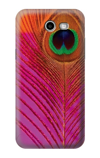 Printed Pink Peacock Feather Asus Zenfone 2 Laser ZE550KL Case