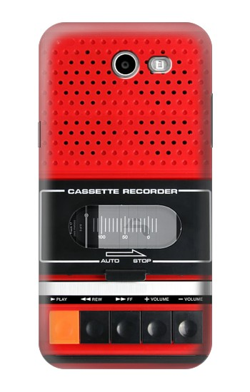 Printed Red Cassette Recorder Graphic Asus Zenfone 2 Laser ZE550KL Case