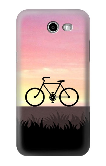 Printed Bicycle Sunset Asus Zenfone 2 Laser ZE550KL Case